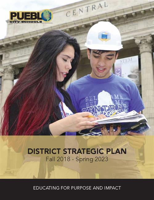 Cover of 2018-23 District 60 Strategic Plan