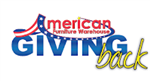 American Furniture Warehouse giving back